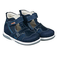 Memo Torino 3DA Синие - Ортопедические туфли для детей (р.22-29)