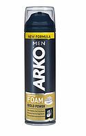 Пена для жесткой щетины Arko Gold Power 200 мл