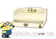 Кровать  80х170 KINDER-COOL с ящиком   Viorina-Deko, фото 2