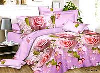 Двуспальный набор постельного белья 180*220 из Полиэстера №178 Черешенка™
