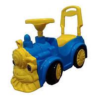 Машинка-каталка Паровозик (761) Голубой Орион