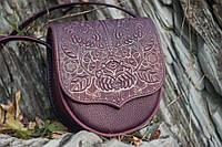 Кожаная женская сумка, сумка через плечо, мини сумочка