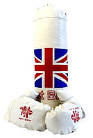 """Боксерский набор для детей """"Британия"""" (боксёрская груша и перчатки)"""