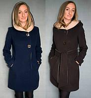 Зимнее женское кашемировое пальто №49 зима (р.42-48)