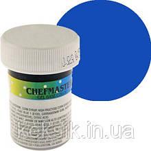 Пищевая краска-паста Chefmaster Gel Royal Blue