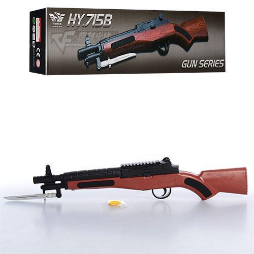 Ружье ES 1003-0618 B  на пульках, 44,5см, в кор-ке, 45-9,5-6см