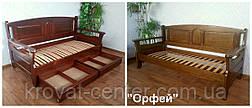 """Кровать из серии """"Орфей"""". Массив - сосна, ольха, береза, дуб., фото 3"""