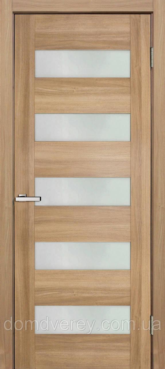 Двери Омис модель 04 серия Cortex Deco стекло ПО сатин