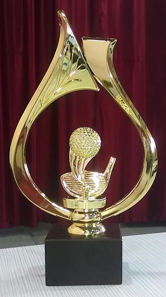 Статуэтка наградная Golf-Oreol