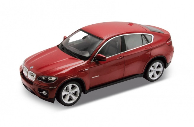 "Машина Welly, ""BMW X6"", металлическая, масштаб 1:24, 24004W"