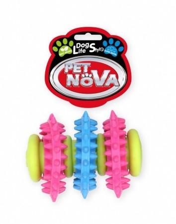 Игрушка для собак Трубка SuperDent Pet Nova 7 см