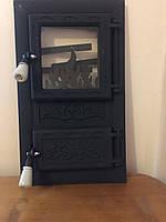 Дверцы печные «Огонь черный»