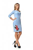 Стильное платье-футляр из новой коллекции