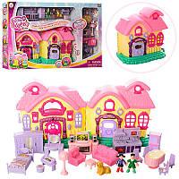 Игровой набор домик принцессы 16639: фигурки + мебель
