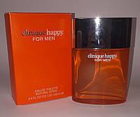 Мужская туалетная вода Clinique Happy for men + 10 мл в подарок (реплика)