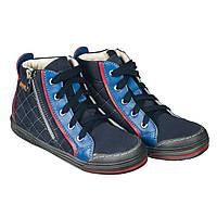 Memo New York 1DA Синие - Детские ортопедические кроссовки (р.26-38) e368c3f4875da