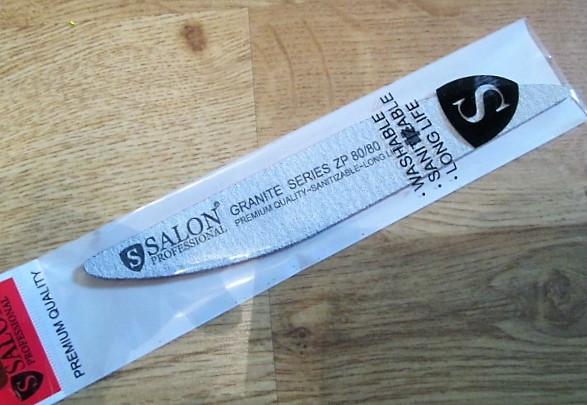 Пилка Salon Professional GRANIT original 80*80 капля