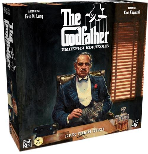Настольная игра Крестный отец. Империя Корлеоне (The Godfather: Corleone's Empire) рус