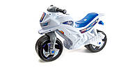 Игрушка-каталка Мотоцикл (501) Орион белый