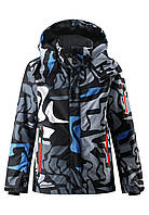 Куртка для мальчиков Reima 531249 сине-серая, размер 164