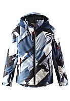 Куртка для мальчиков Reima 531253 сине-серая, размер 152