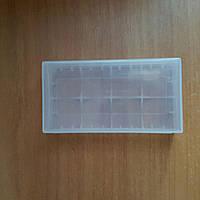 Пластиковий бокс для 4-х акумуляторів CR123A