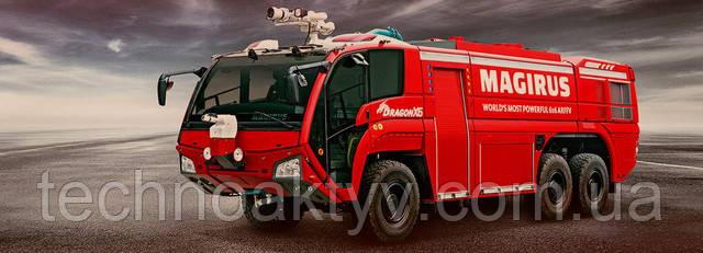 Пожарные машины, спасательные и другие специальные автомобили Magirus