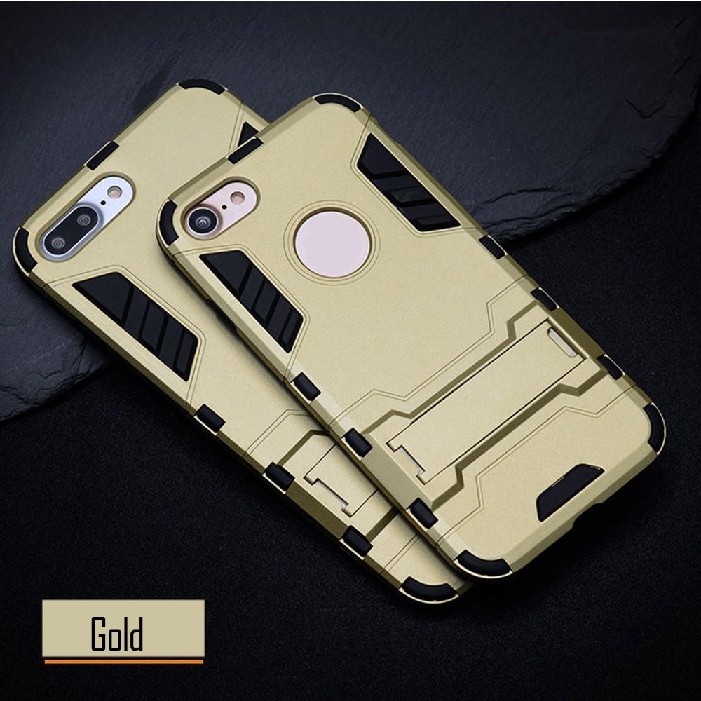 Чехол Apple Iphone 5 / 5S / SE Hybrid Armored Case золотой