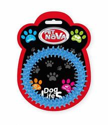 Іграшка для собак Кільце DentRing Pet Nova 12.5 см синій