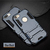 Чехол Apple Iphone 5 / 5S / SE Hybrid Armored Case темно-синий