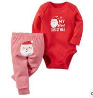 """Костюм для ребенка боди и штаники """"Первое Рождество"""""""