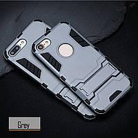 Чехол Apple Iphone 5 / 5S / SE Hybrid Armored Case темно-серый
