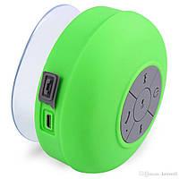 ТОП ВЫБОР! Портативная водонепроницаемая колонка для душа Waterproof Wireless Bluetooth Shower Speaker BTS-06, 1002159, Портативная водонепроницаемая