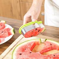 ТОП ВЫБОР! Форма нож для нарезки арбуза Реро в виде мороженого, 1002089, нож для арбуза, нож для резки арбуза,