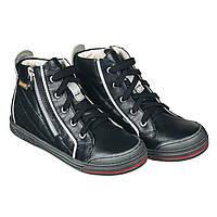 Memo New York 3LA Черные - Ортопедические кроссовки для детей (р.26-38) - Urban Classic