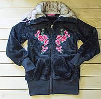 Красивая теплая кофта  для девочки  (рост 146-176 cм)