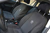 Автомобильные чехлы на сидения PREMIUM SKODA FABIA Mk2 раздельн.2007г..з/сп и сид.2/3 1/3;6п(2вар.з/подг);airb