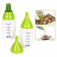 ТОП ВЫБОР! Комплект силиконовых мерных бутылочек Chef's Bottle Kit, 1002315, Бутылки для соусов, 1002315, Chef's Bottle Kit, Chef's Bottle Kit киев,