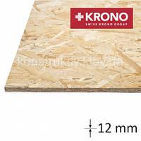 ОSB плита  Krono (1250*2500*12) влагостойкая