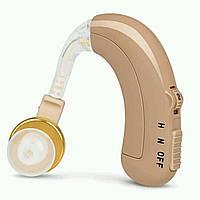 ТОП ВЫБОР! Заушный слуховой аппарат Happy Sheep HP-118 с аккумулятором, 1002266, 1002266, Happy Sheep HP-118, Happy Sheep HP118, Happy Sheep HP 118,