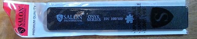 Пилка Salon Professional ONYX original 100*180 широкая