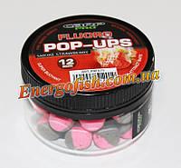 Бойли Two tone Fluro Pop-ups Smoked Strawberry 12мм