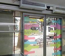 """Автоматические двери Cuppon, Маг. """"Сухой Закон"""" (г. Николаев) 23.10.2017 1"""