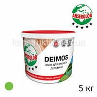 Препарат для древесины Anserglob DEIMOS, зеленый, 5 кг