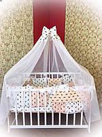 Комплект постельного в детскую кроватку, Новинка