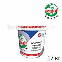 Шпатлевка акриловая Anserglob , 17 кг