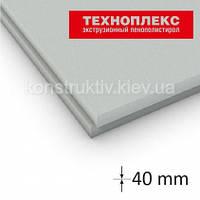 Экструдированный пенополистирол Техноплекс 40*580*1180мм (0,68 кв.м)