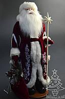 Дед Мороз под елку 72 см белый 0554