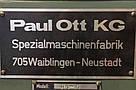 Калибровально-шлифовальный станок бу Paul Ott RS-0 широколенточный двухагрегатный, фото 9