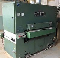 Калибровально-шлифовальный станок бу Paul Ott RS-0 широколенточный двухагрегатный